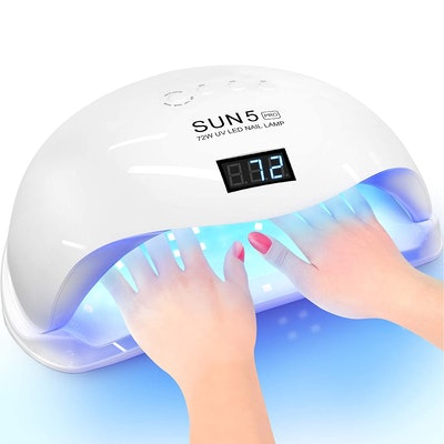 OVLUX 72W Sun 5 UV/LED Nail Lamp