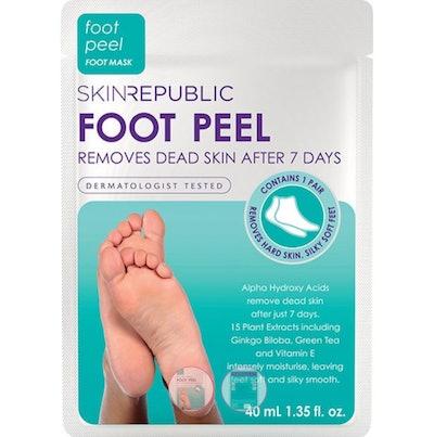 Skin Republic Foot Peel Mask with Foot Socks