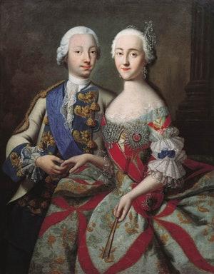 Peter the III and Catherine the Great of Russia