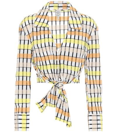 Merona Cropped Shirt