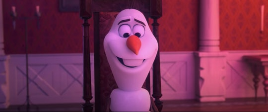 "Olaf's new song ""I Am With You"" might resonate with kids especially right now."