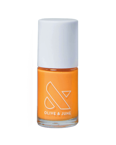 Sweet & Gracious orange color from Olive & June Loves Zeba Summer 2020 Collection