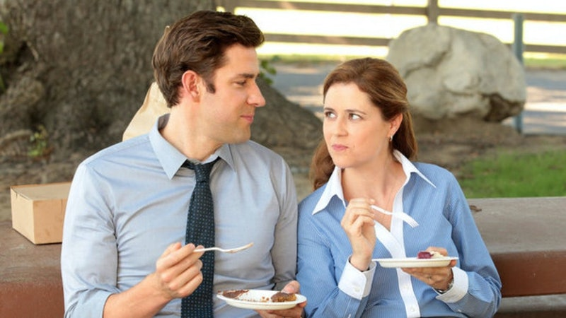 John Krasinski Once Pulled An 'Office' Prank On Jenna Fischer At Schrute Farms