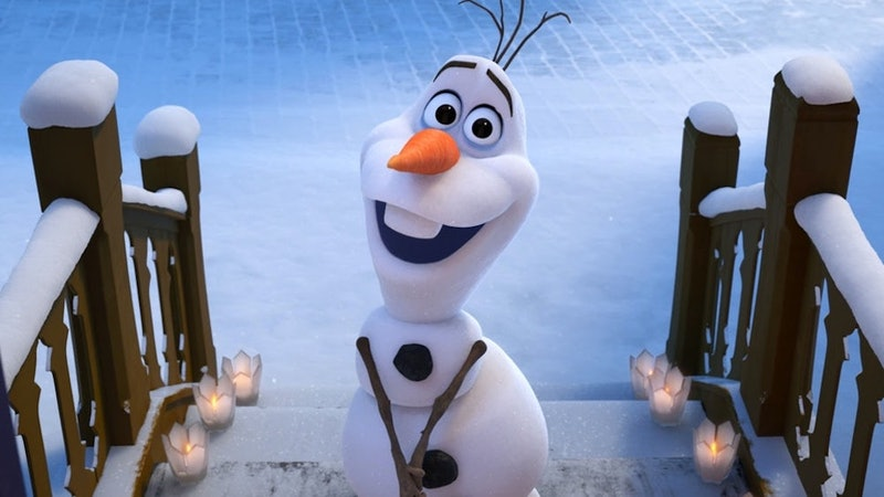 Olaf unveils a new song Frozen fans will love.