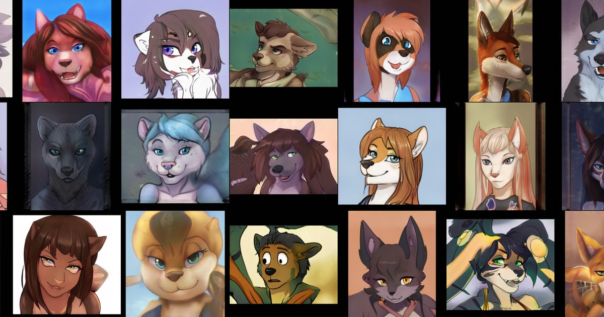 This website generates a never-ending feed of furry art