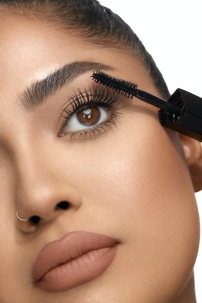 Huda Beauty's LEGIT Lashes mascara aims to produce the same effect as false lashes.