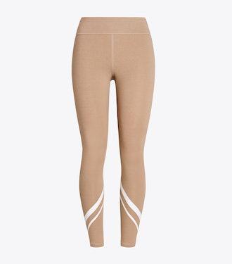 Mélange Chevron Side-Pocket Leggings