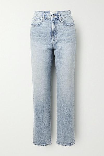 Dakota High-Rise Straight-Leg Jean