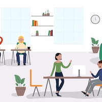How coworking spaces changed the office for good