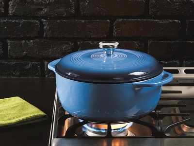 Lodge 6-Quart Enameled Cast Iron Dutch Oven