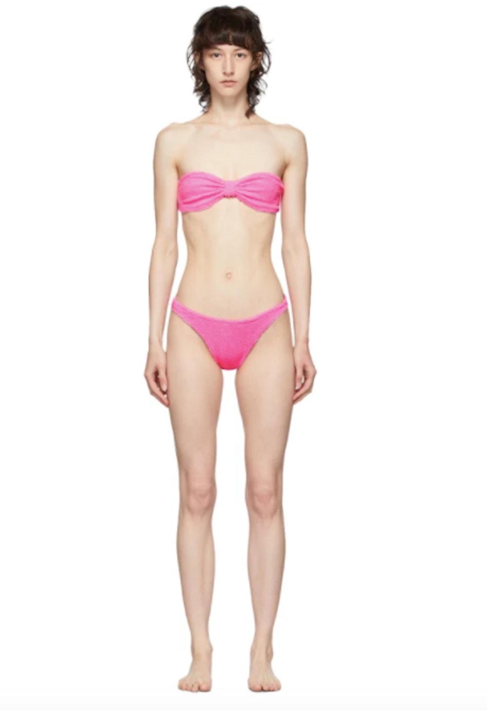 Pink Jean Bikini