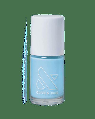 Honest & True sky blue color from Olive & June Loves Zeba Summer 2020 Collection