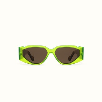 Off Record Sunglasses Acid Green