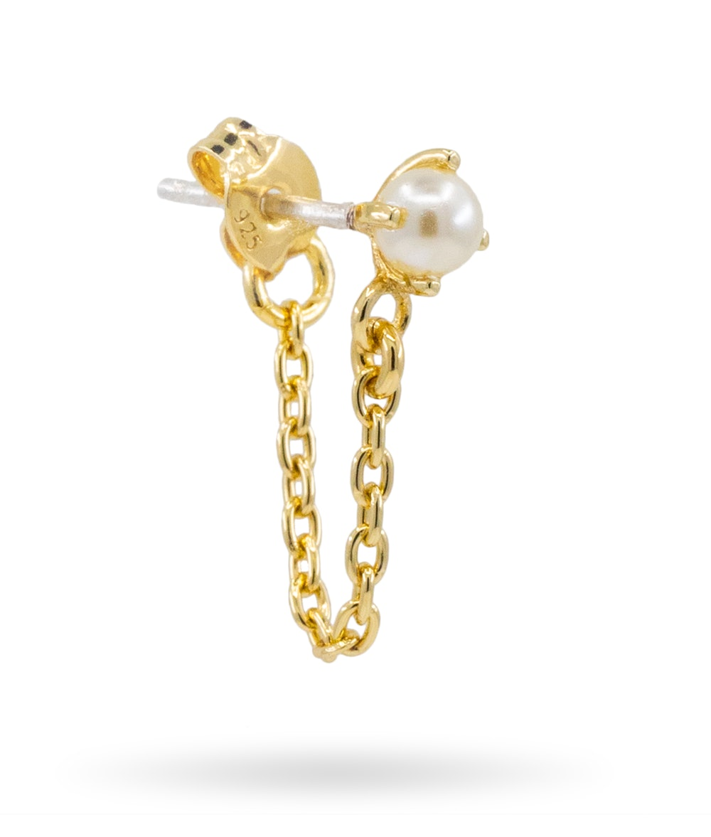 Pearl Continuous Earring