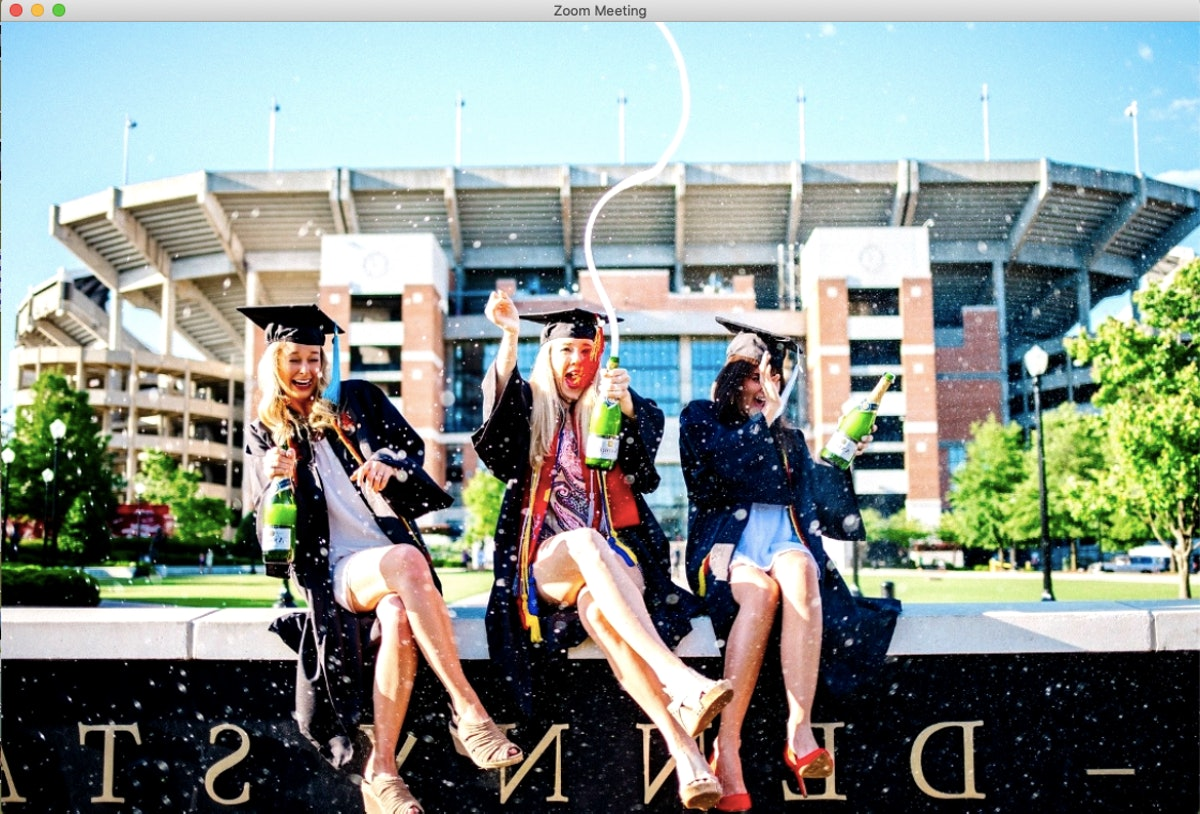 These Zoom Graduation backgrounds are perfect for a remote celebration.