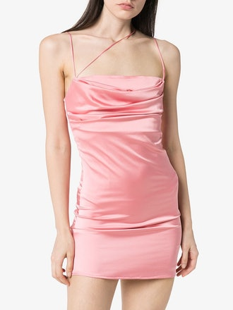 Frisco Satin Mini Dress
