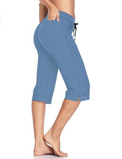 HISKYWIN Straight Leg Yoga Pants