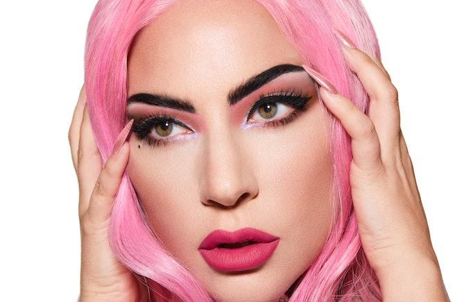 Lady Gaga wears Haus Labs Stupid Love Eyeshadow Palette
