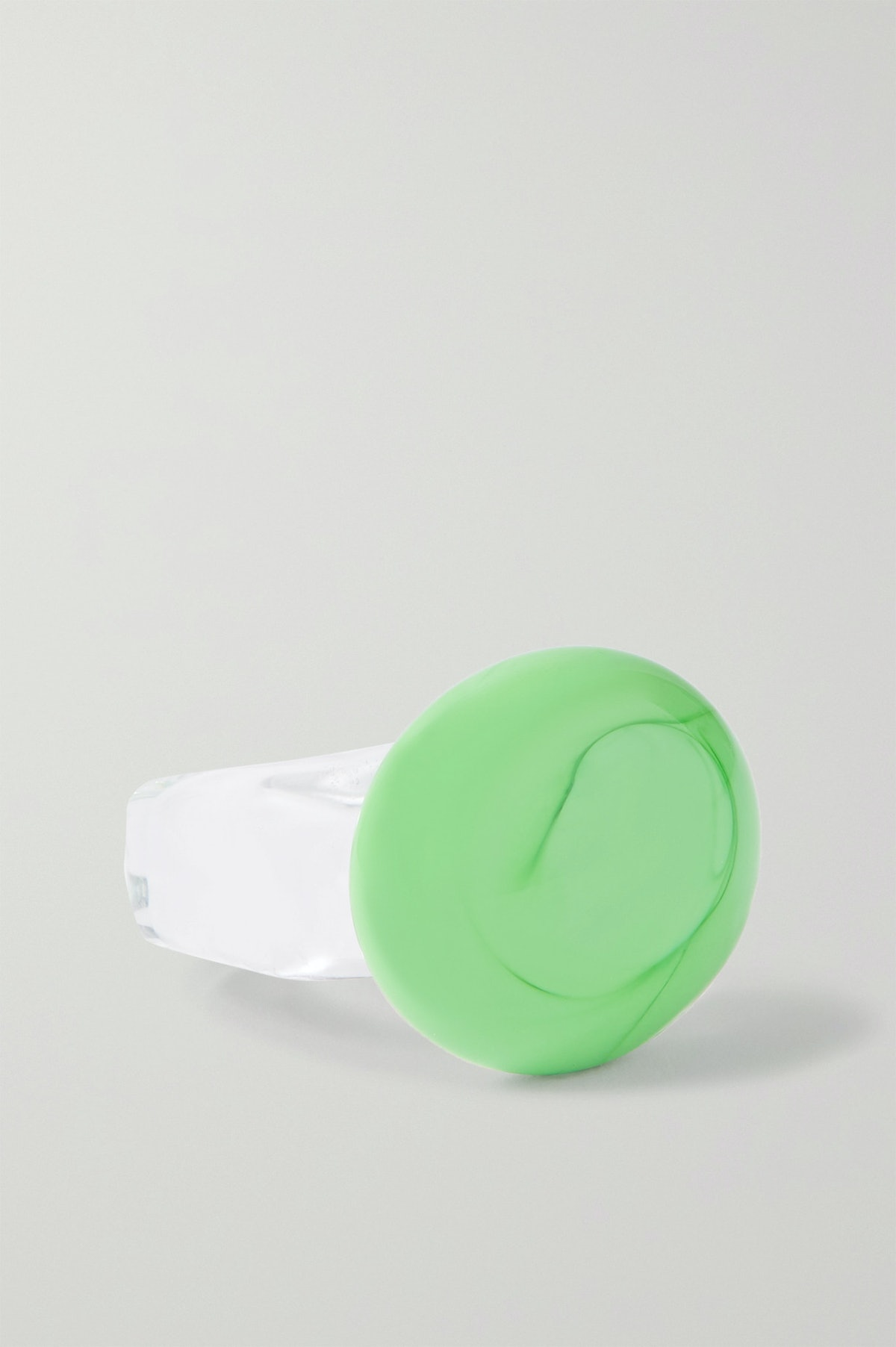 Circle Glass Ring