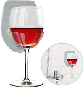Gotega Wine Glass Holder for Bath