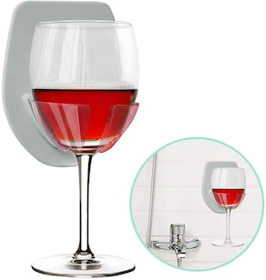 Gotega Wine Glass Holder for Bath
