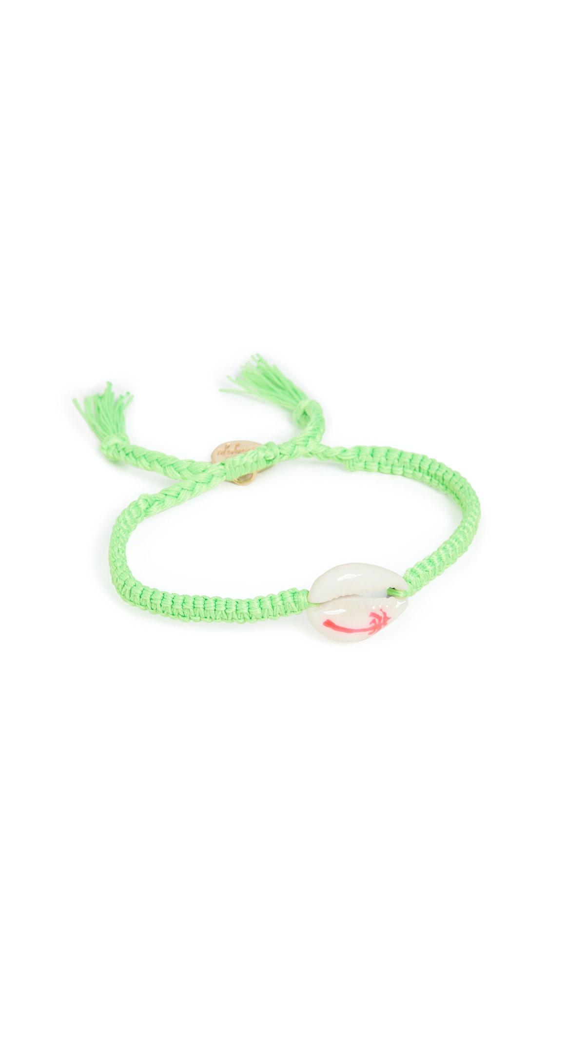 Palm Tree Shell Bracelet