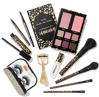 Tarte's Confessions of a Maneater Eye & Cheek Palette, Maneater Mascara, and other collection produc...