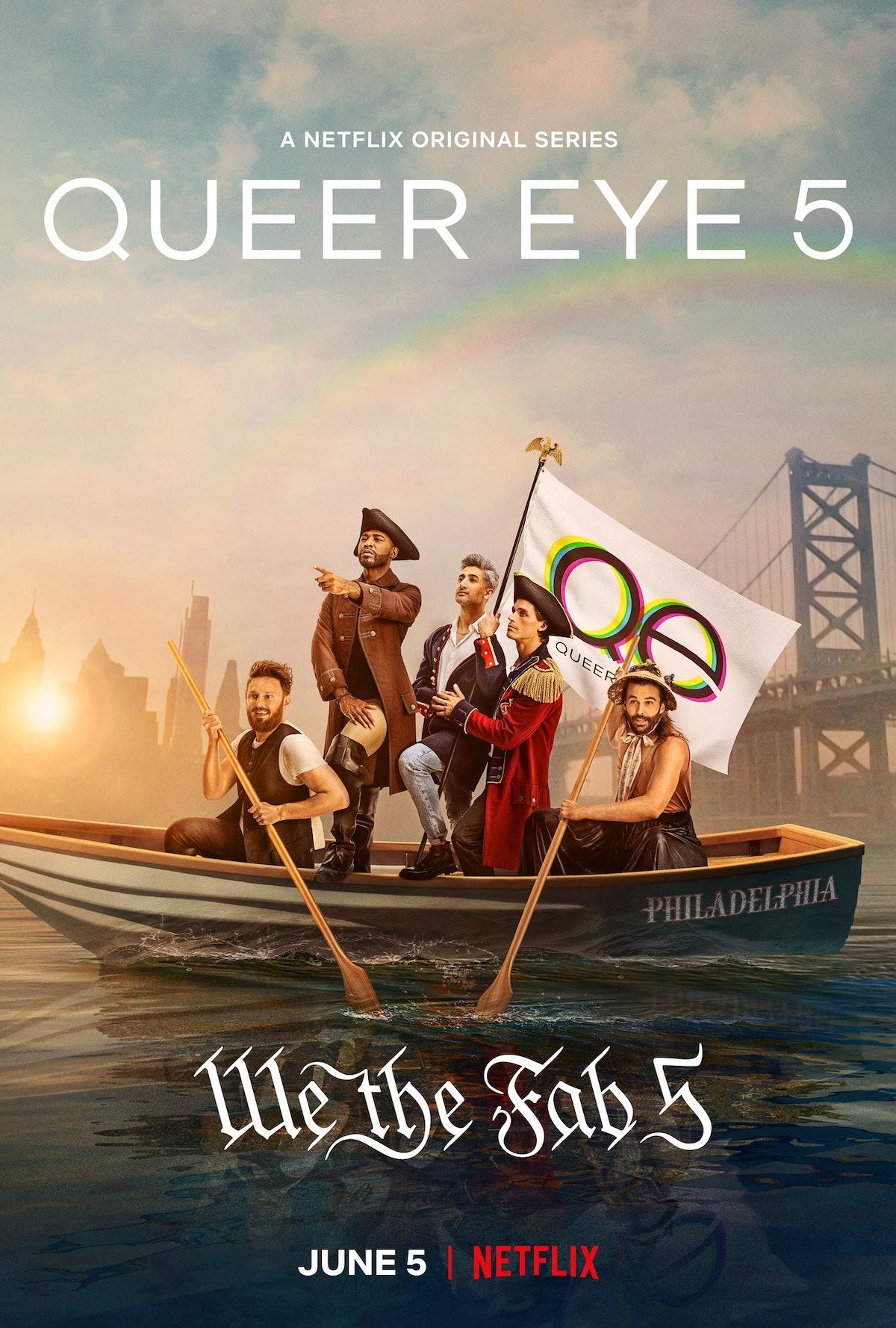 Season 5 art for 'Queer Eye'