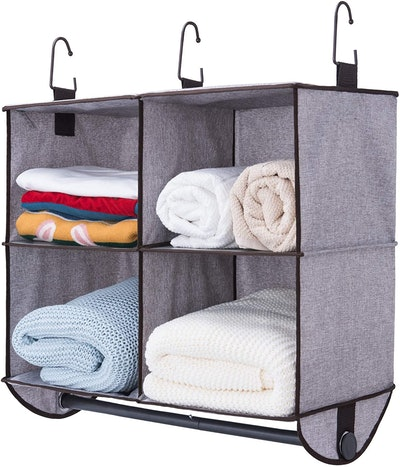 StorageWorks 4 Section Hanging Closet Organizer