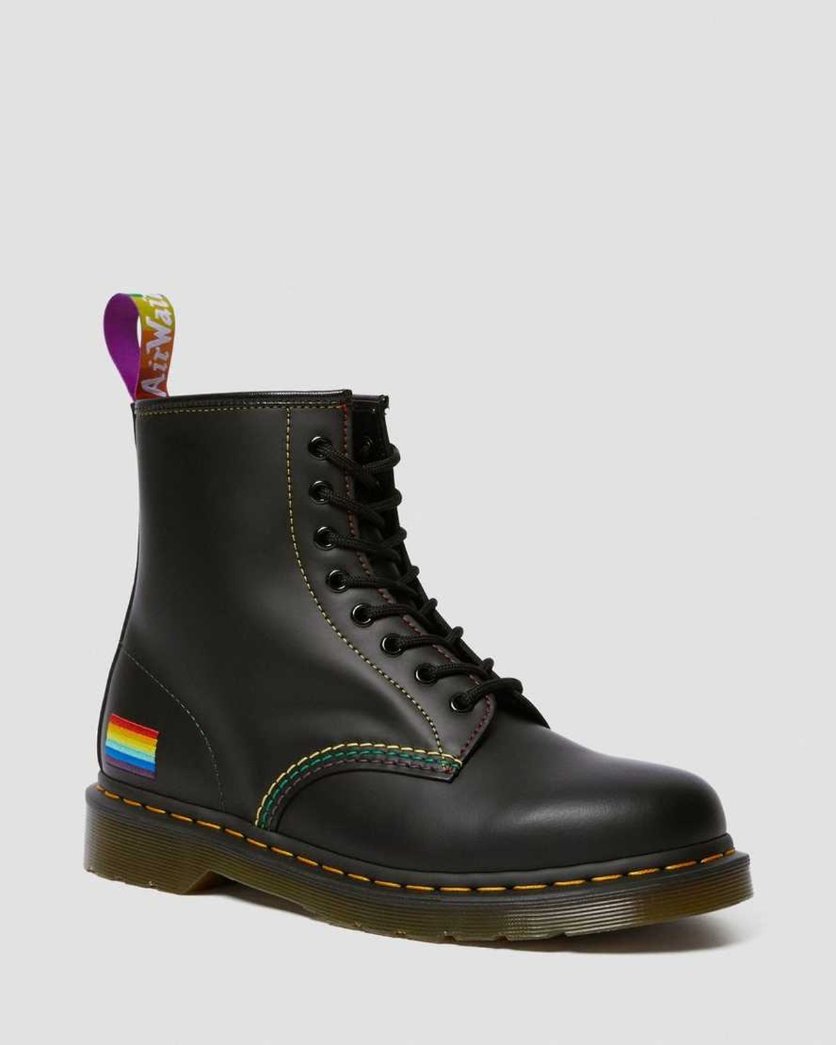 1460 Pride Smooth Leather Lace Up Boots