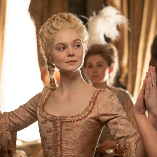 Elle Fanning as Catherine The Great in Hulu's 'The Great'