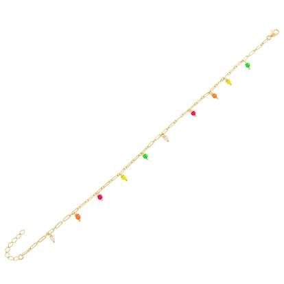 Multi Neon Link Bracelet