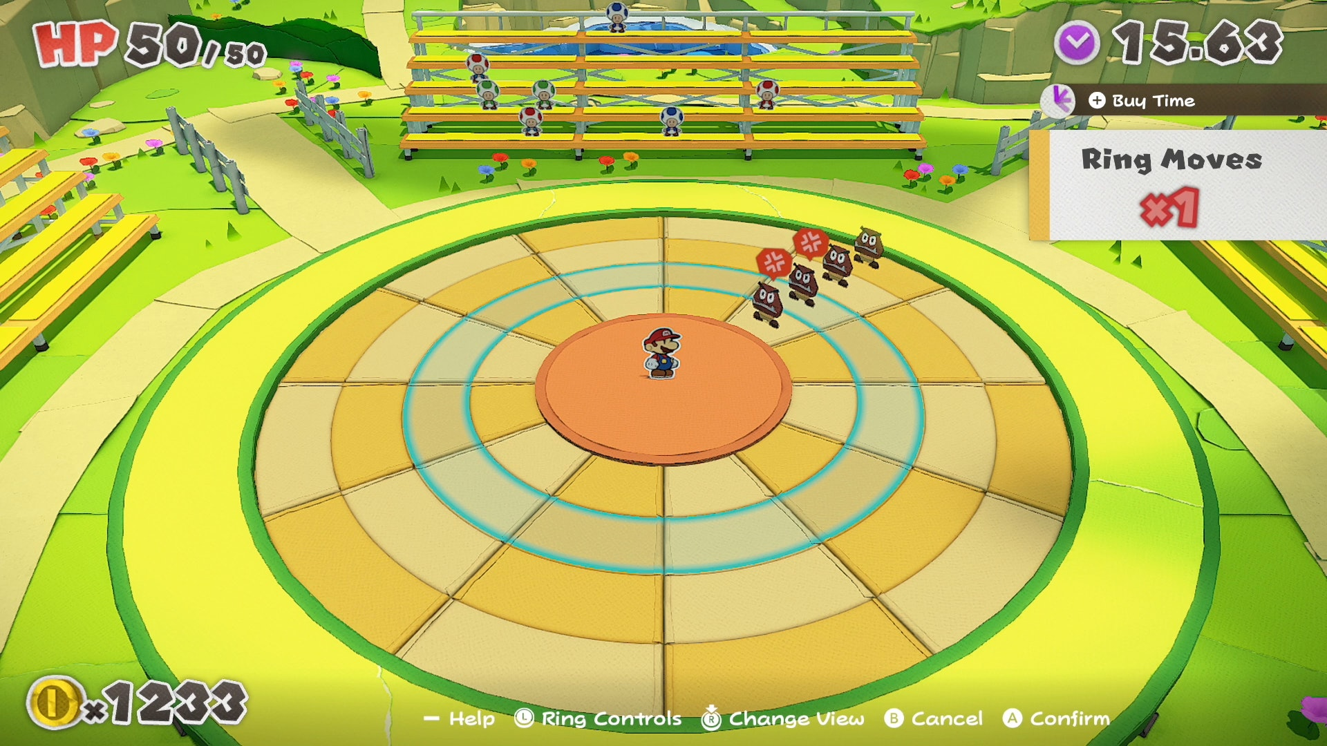 Combates em Paper Mario: Origami King