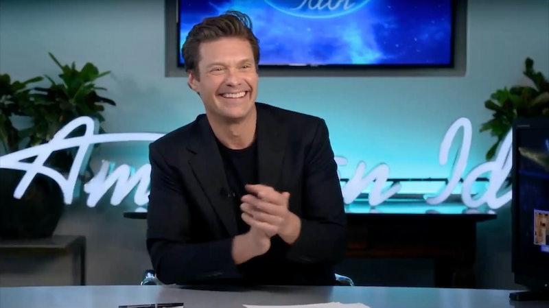 Ryan Seacrest on American Idol