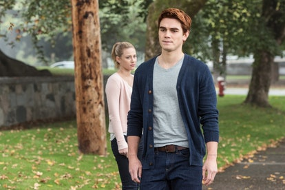 Archie and Betty in Riverdale Season 1