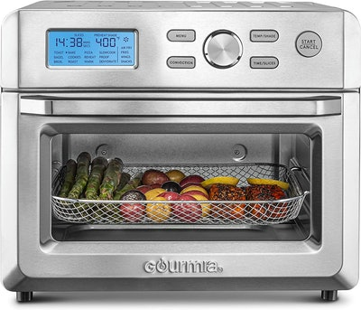 Gourmia 16-in-1 Digital Stainless Steel Air Fryer Oven