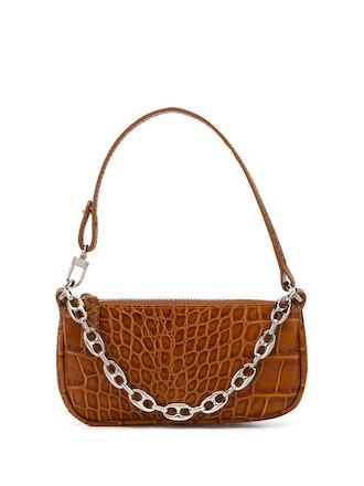 Mini Rachel Crocodile-Effect Shoulder Bag