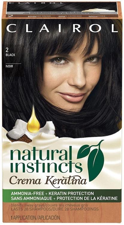 Clairol Natural Instincts Crema Keratina Semi-Permanent Hair Color