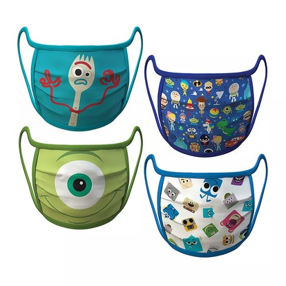 Medium – PIXAR Cloth Face Masks 4-Pack Set – Pre-Order