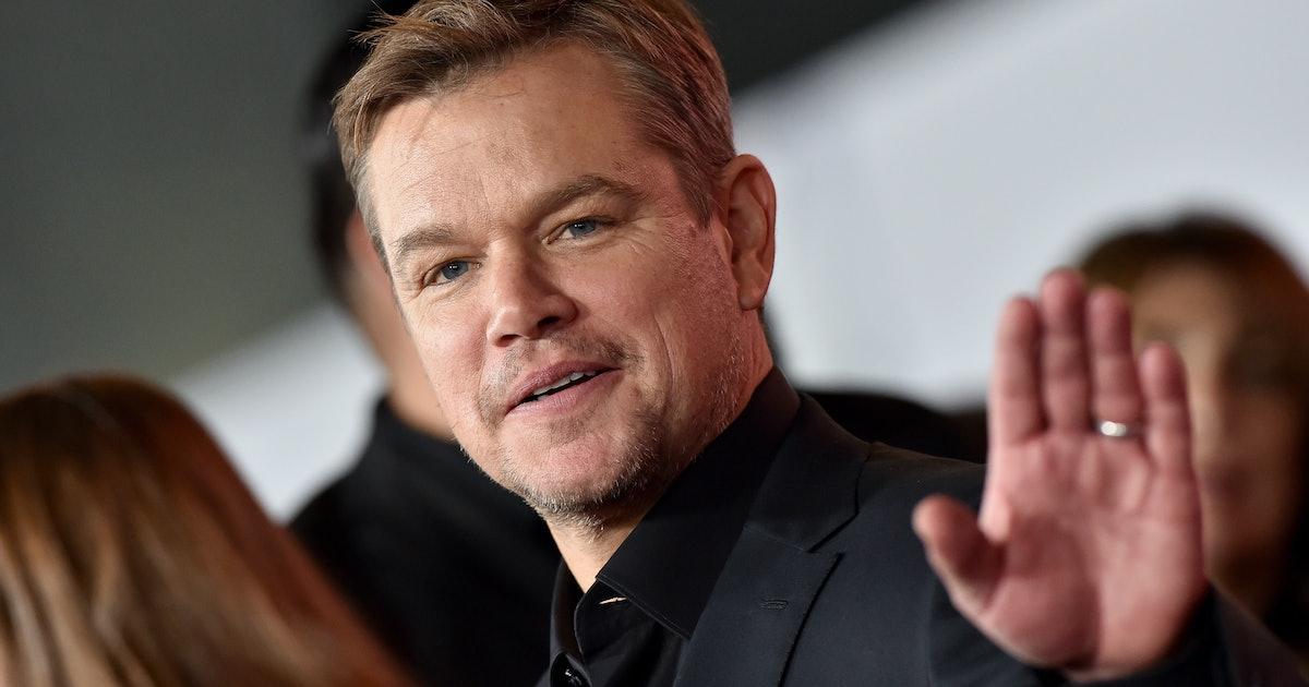 Matt Damon Has Been 'Adopted' By An Irish Village During ...