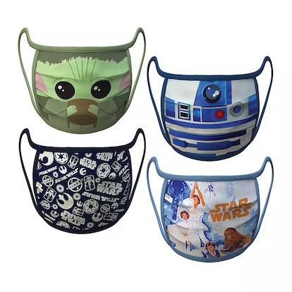 Medium — Star Wars Cloth Face Masks 4-Pack Set – Pre-Order