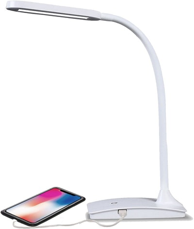 TW Lighting IVY-40WT The IVY LED Desk Lamp