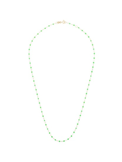 18kt Gold Neon Bead Necklace