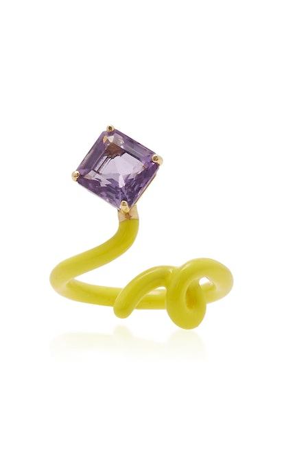 Square Tendril Ring