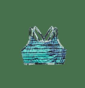 Palm Tie Dye Bikini Top