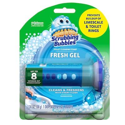 Scrubbing Bubbles Fresh Gel Toilet Bowl Stamps (6-Pack)