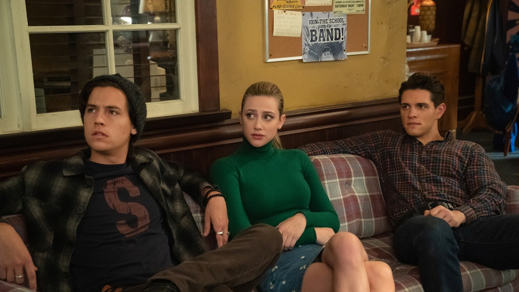 Jughead, Betty, and Kevin in 'Riverdale' Season 4