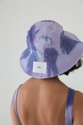 Vacationer Hat in Grape Tie-Dye