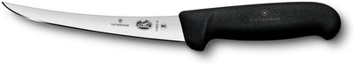 Victorinox Swiss Army Cutlery Fibrox Pro Curved Boning Knife, Semi-Stiff Blade (6 Inches)