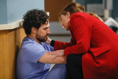 DeLuca and Meredith on Grey's Anatomy